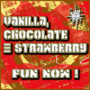 Fun Now ! (3 Colour Jam) - Vanilla,Chocolate & Strawberry