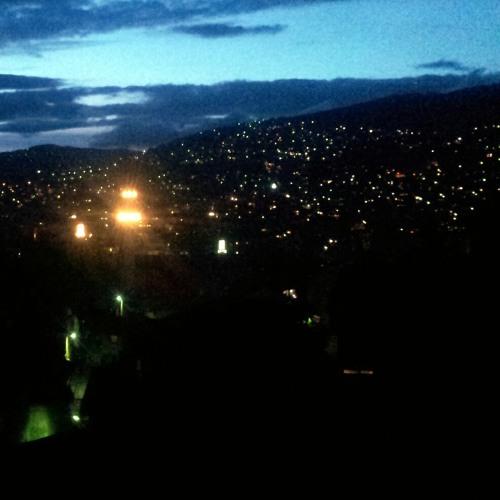 Muslim Night Prayer at Sarajevo