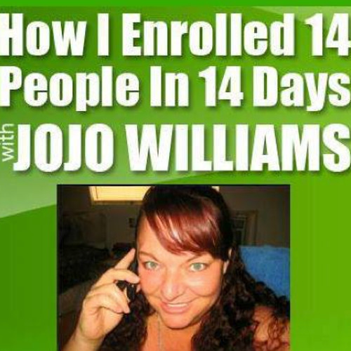 How JoJo Williams enrolled 14 people in 14 days 06-03-13