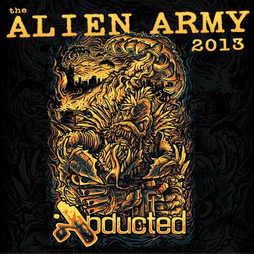 Alien Army 2013 mixed live by Dioptrics