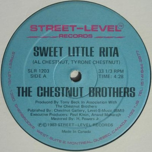 FREE DL BUT LEAVE A COMMENT - The Chestnut Brothers - Sweet Little Rita (Dj Prime Extended Edit)
