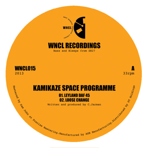Kamikaze Space Programme - Pyongyang (WNCL15) Out July 1st