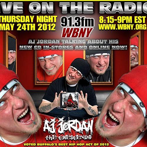AJ Jordan The Crescendo - Radio Interview WBNY 91.3 FM May 24th 2012