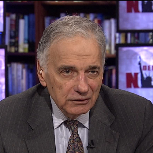 American Fascism: Ralph Nader Decries How Big Business Has Taken Control of the U.S. Government ½