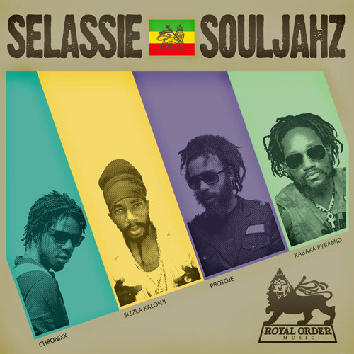 CHRONIXX Feat. SIZZLA, PROTOJE & KABAKA PYRAMID - SELASSIE SOULJAHZ Exclusively played by DJ WAYNE!!