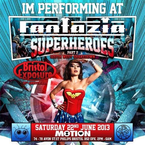 Rachael E.C ~ Fantazia Superheros 2 Dark Demo Mix ~ Free Download