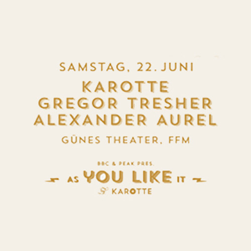 Karotte @ As You Like It March 31st, 2013