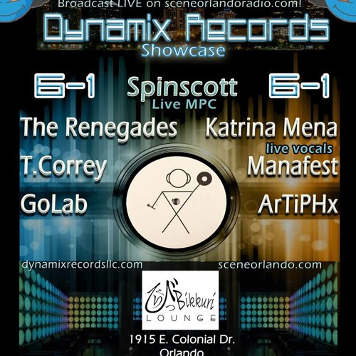Spinscott + MC Freak Live @ Scene Orlando - Dynamix Records Showcase