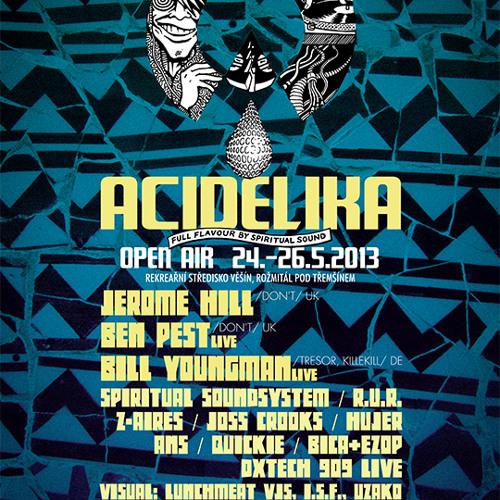 Jerome Hill Dj set @ Acidelika Open Air 2013