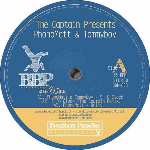 5 O'clock - The Captain Remix - Tommyboy & Phonomatt