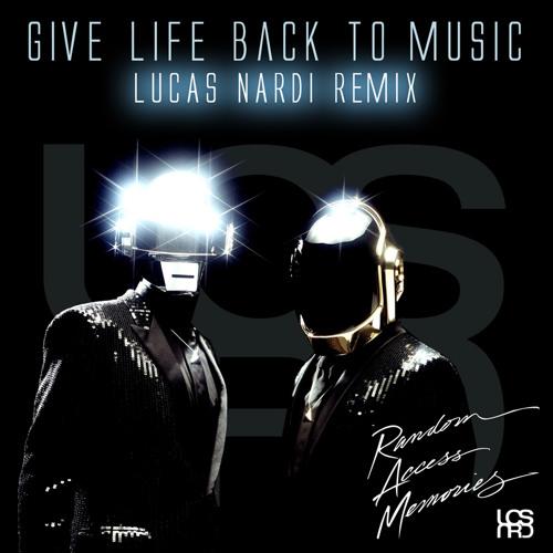 Daft Punk - Give life back to music (Lucas Nardi Bootleg)