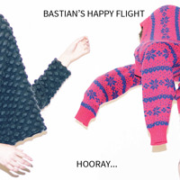 Bastian's Happy Flight Hooray... Artwork