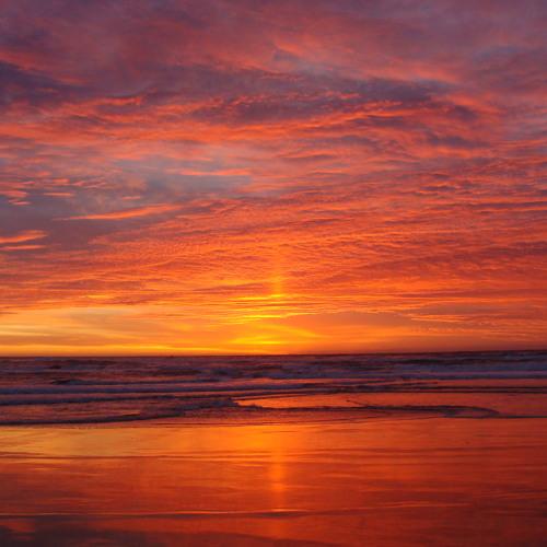 Dj earth sunset