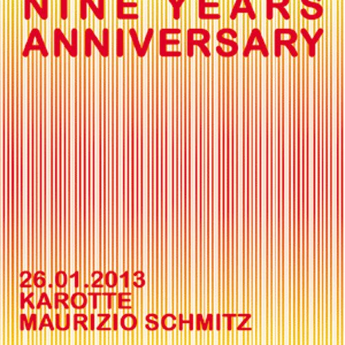 9 years mauromusica party: Maurizio Schmitz Warm Up-Set