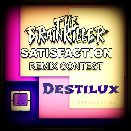 FND063   The Brainkiller - Satisfaction ( Destilux Remix ) Out Soon 19/08/2013 @ Beatport WINNER!