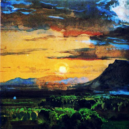 Sunset Lightshow