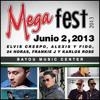 Frankie J-No te quiero ver Con El ( MegaFest2013 ] at Bayou Center Music