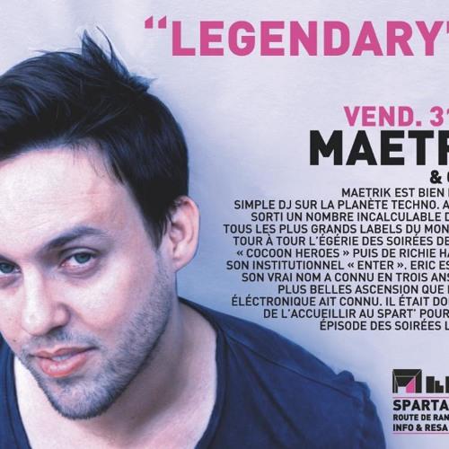 31.05.2013 - LEGENDARY with MAETRIK , Medeew & Chicks Luv Us @ SPARTACUS CLUB