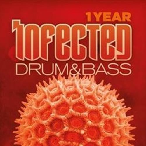 Upzet feat. MC Fava & Mace - 1 Year Infected - Drum & Bass @ Magdalena, Berlin