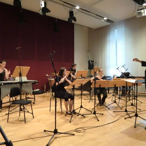 "Bernhard P. Eder - ""Illusionen"" (2012) for 2 flutes & 2 percussionists"