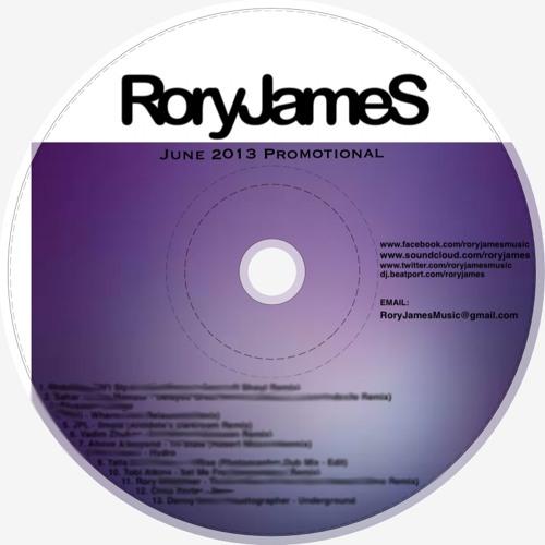 RoryJames - June 2013 Promotional