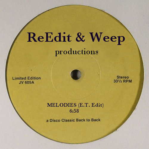 Melodies (Eugene Tambourine Edit) / MADE IN USA