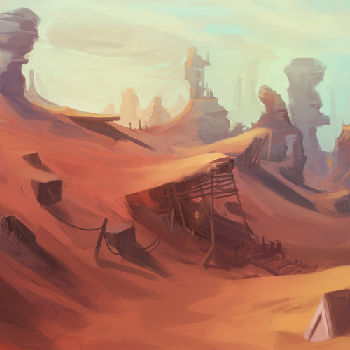 Journey to the Land of Red Dunes