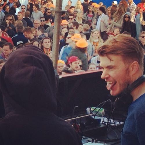 Bart B More @ Kingsday Festival, Amsterdam, 30-04-2013