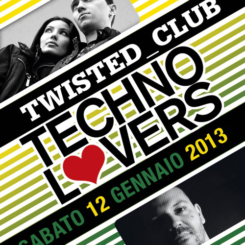 Lucas Freire + Dot Chandler (4 decks) @ Twisted Club - Salerno ITA Jan 2013