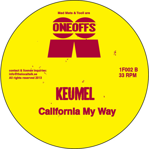 Keumel - California My Way (1F002, Side B2)
