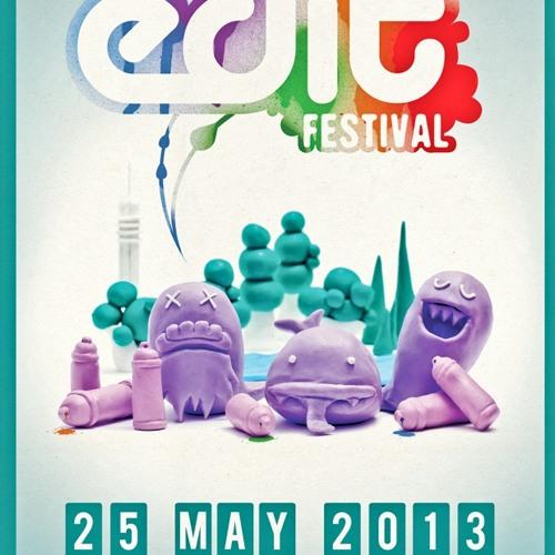 Nicole Rosie & Jeff Rushin @ EDIT Festival 2013 (On and Schwung)