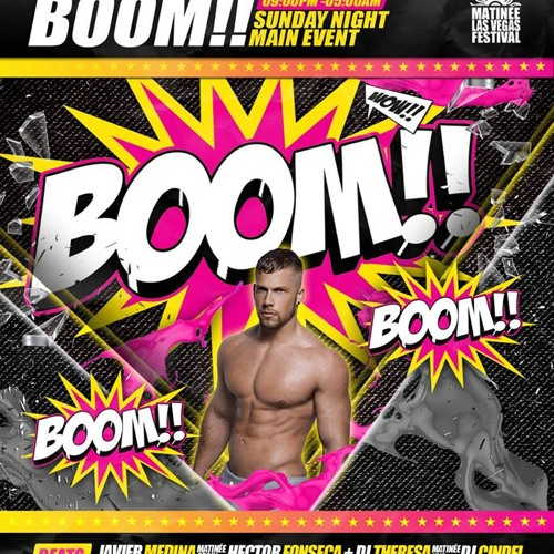 BOOM (Dj Cindel Live @ MATINEE Las Vegas 2013)