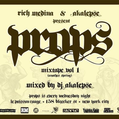 PROPS MIXTAPE VOL. ONE (another spring) 1