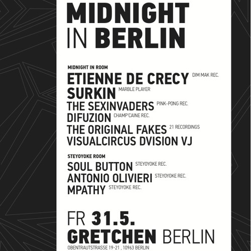 MPathy at Gretchen, Berlin