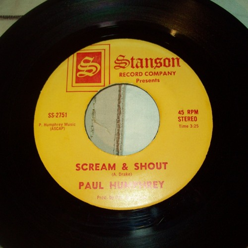 Paul humphrey - scream & shout..