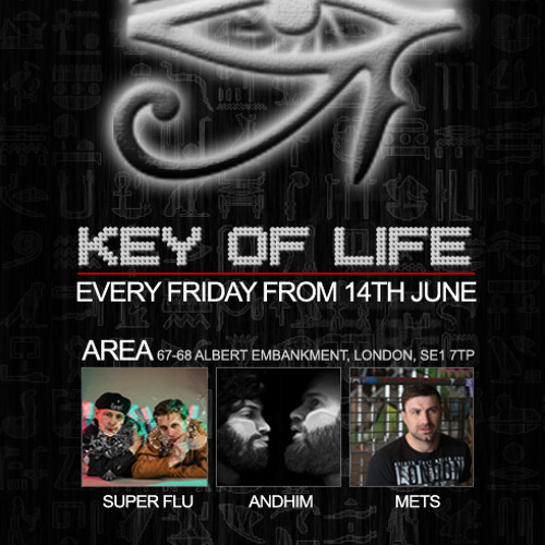 KEY OF LIFE & AREA PROMO MIX BY DJ METS