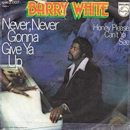 """""""Never, Never Gonna Give You Up"""" - BARRY WHITE (Live)"""