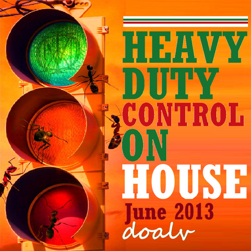 HEAVY-DUTY CONTROL ON HOUSE [Dance Through! It's Green Light for New Tunes ~ June 2K13]