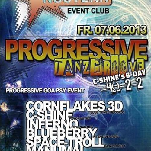 CORNFLAKES 3D live set @ progressive tanz groove