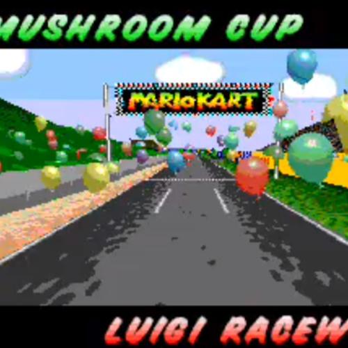 Mario Kart 64 - Luigi Raceway (8-Bit Version) by Vanstyler ...