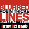 Robin Thicke Feat T.I & Pharrell - Blurred Lines (Filthy Djs remix)