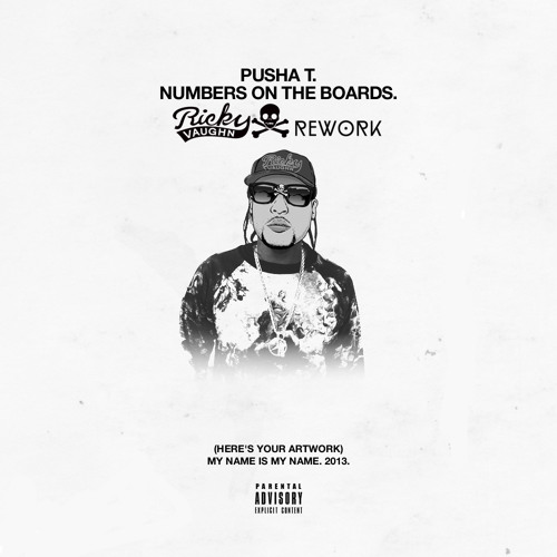 Pusha T - Numbers on The Board (Ricky Vaughn Rework)
