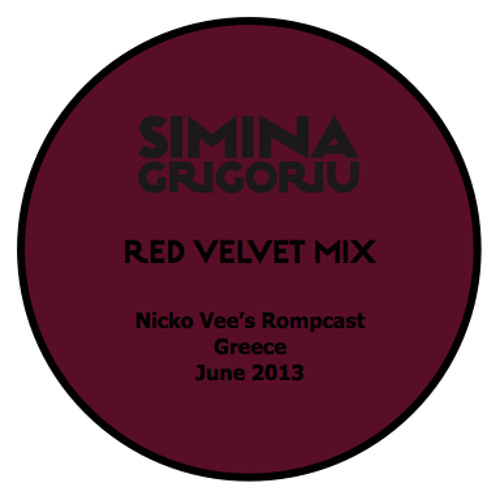 Simina Grigoriu - RED VELVET Mix