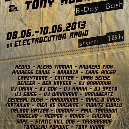 General Rush @ CrazyTBone,s & Tony Kurdo,s B-Day Bash 08.06.2013