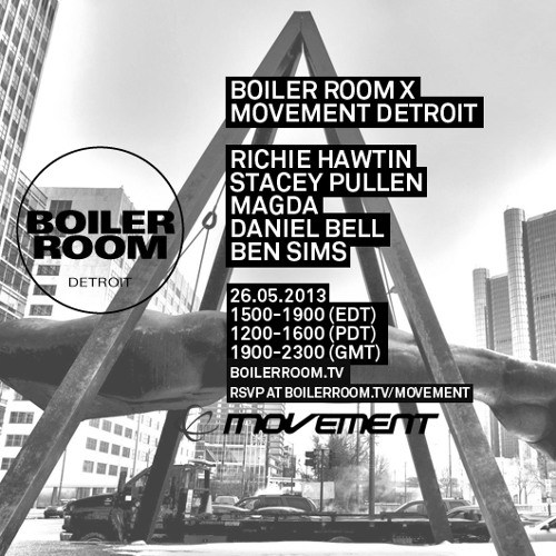 Stacey Pullen 70 Minute Boiler Room x Movement Mix