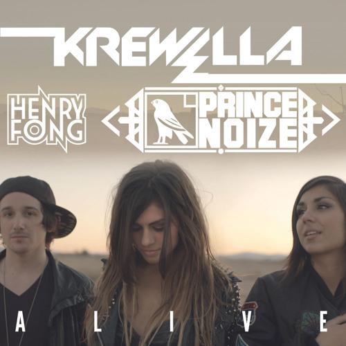 Krewella-Alive & Stand Up (Prince Noize Mashup Vs Henry Fong)