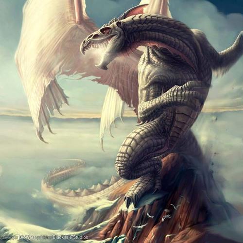 Gresul the  dragon  ( new  by djmystyryo )