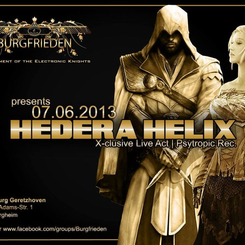 Hedera Helix Liveset @ Burgfrieden 2013 (freedownload)
