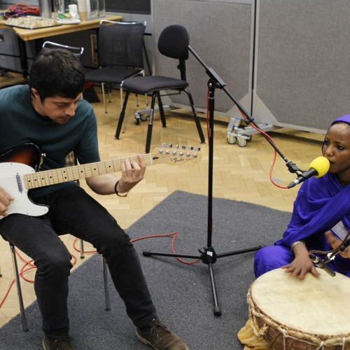 BBC 3 radio session with Aziza Brahim, Lucy Durán at World Routes