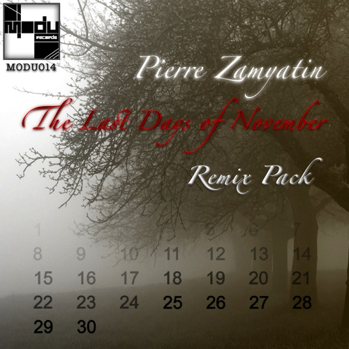 Pierre Zamyatin - The Last Days of November (Remix Pack) [MODU014]